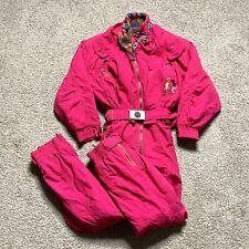 Bogner Womens One-piece Snow Ski Suit Size 10 90s Vintage
