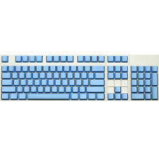 Max Keyboard ANSI 104-key Cherry MX Replacement Keycap Set 6.25x (Blue / Blank)