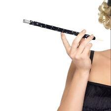 Black Sequined Cigarette Holder 20s 30s Charleston Flapper Fancy Dress Accessory
