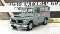 Scale car 1:43, Rural Willys Wagon Police Of Brazil
