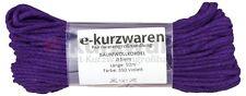 Baumwollkordel 5mm / 50m Schnur Baumwolle Kordel Farbauswahl 38 Farben Deko