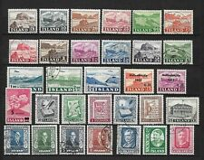 Iceland 2 pages older lot