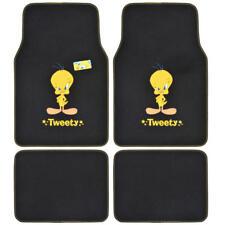 Sassy Tweety Bird - Official Looney Tunes Carpet Floor Mats - Front & Rear 4 PC