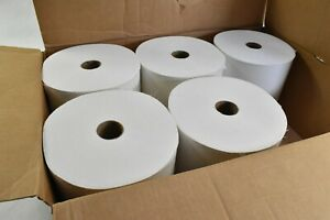Scott 1000 ft White Hard Roll Towels, 1-Ply, 5 Rolls (01005)