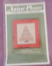 ASTOR PLACE 1986 COUNTED THREAD CROSS STITCH PATTERN/GRAPH   CHRISTMAS TREE