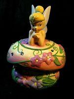 Disney Tinker Bell Jeweled Muchroom Cookie Jar
