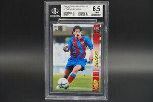 BGS 6.5 Lionel Messi 71 Rookie 2004 05 Panini Megacracks La Liga Soccer RC 71BIS