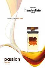 Passion Men by Franck Olivier EDT Eau De Toilette Genuine Parfum for Men 50ml