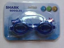 Shark Goggles By Lifeguard Children's PC Lens Latex Free Adj Strap New