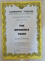 THE IMPOSSIBLE YEARS DAVID TOMLINSON SANDRA FAIR GABRIELLE DOWNEY JOYCE CUMMINGS