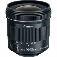 Canon EF-S 10-18mm f/4.5-5.6 IS STM Lens 9519B002