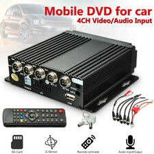 Mini 4CH AHD DVR Car Vehicle Mobile Realtime Video/Audio Recorder SD Card Remote