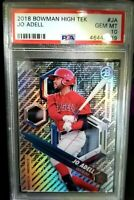 Jo Adell PSA 10, 2018 Bowman High Tek See Through Card #PHT-JA Low Population