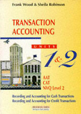 BUSINESS ACCOUNTING: TRANSACTION ACCOUNTING (FRANK WOOD'S BUSINESS-ExLibrary