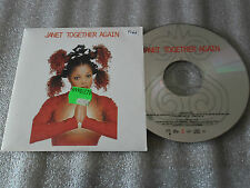 CD-JANET JACKSON-TOGETHER AGAIN-JIMMY JAM DEEPER RADIO MIX-(CD SINGLE)97-2TRACK