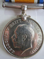 Canada WW1 British War Medal - Pte. S.J. Chiswick 115th Canadian Inf. Battalion