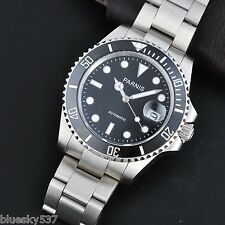 40mm Parnis Japan Miyota Sapphire Glass Submariner Automatic Men's Watch