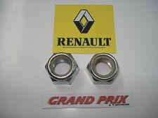 COPPIA DADI MOZZO RUOTA ANTERIORE Renault 4 - 5 - 6 - 12 - 15 - 18