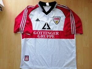 VfB Stuttgart Vintage Football Jersey 2XL 1998 1999 Trikot Old Rare Gottinger
