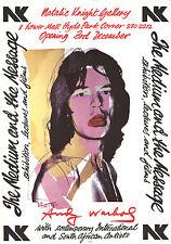 Andy Warhol-Mick Jagger-1974 Poster