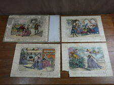 3x PUZZLES JIGSAW Patience Circa. 1860 CENDRILLON CINDERELLA Ed COQUERET Jannin