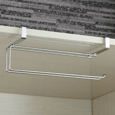 Acero inoxidable dispensador soporte toalla papel cocina debajo pared gabinete