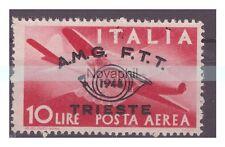 TRIESTE A - 1948  CONGRESSO FILATELICO  PA   LIRE  10  NUOVO **