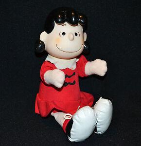 Peanuts Lucy McDonalds Toy Vintage 90's 26cm