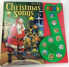 Play a Song Christmas Songs Book PI KIDS Sound Bar 10 Holiday Songs 2002