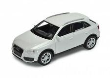 Audi Q3 TOUS-TERRAINS argent Welly Maquette de voiture