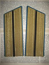 -- Rare Soviet VOSO Officer Parade Gold Color Shoulder Boards marked 1967