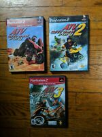 ATV Offroad Fury 1, 2 & 3 Bundle Lot (Playstation 2 PS2) - Complete - Tested
