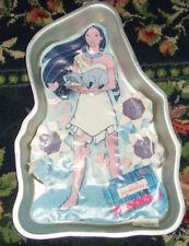 1995 Disney Pocahontas Princess with flowers Meeko Raccoon Wilton cake pan party