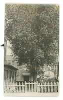 RPPC Size Real Photo Tent by Courthouse GREAT FALLS MT Montana ca 1915