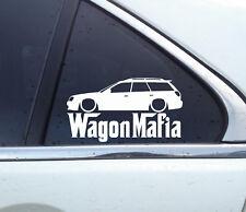 Lowered WAGON MAFIA sticker - for Subaru Legacy BH (1999-2003) jdm