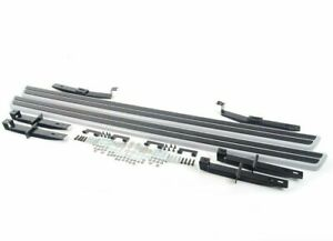 Genuine VW Touareg Running Board Aluminum Side Steps 2011-17 OEM 7P0-071-691-M70