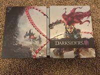 Darksiders III 3 Apocalypse Edition Steelbook Only