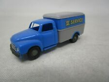 Wiking Plastic Car  *XX SERVICE TRUCK* 1:87 HO SCALE  Made In Germany