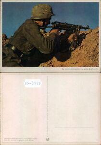 PROPAGANDA WW2-DEUTSCHLAND GERMANY-WEHRMACHT HEER-MACHINE GUN-B12-172