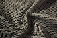 "Pewter Gray Military Mesh Tactical Nylon 46""W Mil-Spec Raschel Fabric Durable"