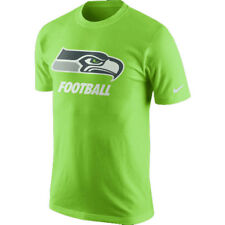 Nike Seattle Seahawks Facility Men's T-Shirt -Size Large Action Green 666943 308