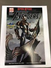 Dark Avengers #1 Granov Midtown NYCC Variant VF 8.0 2009 1st App Of Iron Patriot