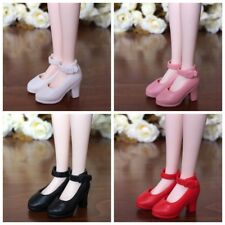 4Pairs High Heel Shoes For Blythe Dolls 1/6 Fashion Shoes For Licca Momoko Doll
