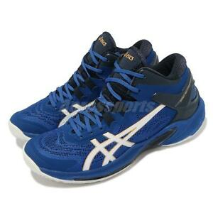 Asics Gelburst 25 Mid Top Blue Navy White Men Basketball Shoes 1063A032-401
