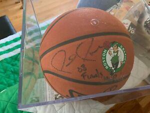 Paul Pierce Signed Finals MVP Spalding Basketball w/COA & Proof Celtics