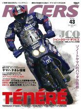 RACERS Vol.43 TENERE YAMAHA Japanese book XT600 YZE920 YZE750
