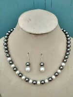 """Long 16/""""18/""""20/""""22/""""25/"""" 8mm Multicolor AAA South Sea Shell Pearl Necklace k35"""
