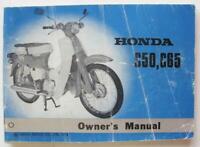 Honda C50 C65 1973 #320401 Motorcycle Owners Handbook