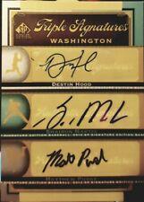Shairon MARTIS Destin HOOD Matthew PURKE 2012 SP Signature Triple AUTO Nationals