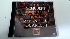"ALBAN BERG QUARTET ""SCHUBERT Cuartetos de cuerda"" CD 8 TRACKS 11 35 2"